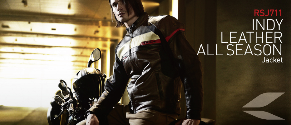 INDY LEATHER ALL SEASON JACKET